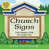 Church Signs 2014 Day-to-Day Calendar