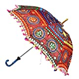 Lalhaveli Maroon Umbrella