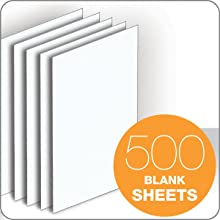 TOPS Memo Sheets, 3 x 5 Inches, 500 Sheets, White(7860)