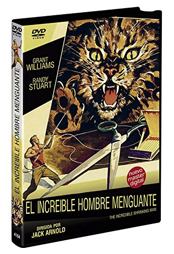 El Increíble Hombre Menguante  DVD 1957 The Incredible Shrinking Man [Edizione: Spagna]