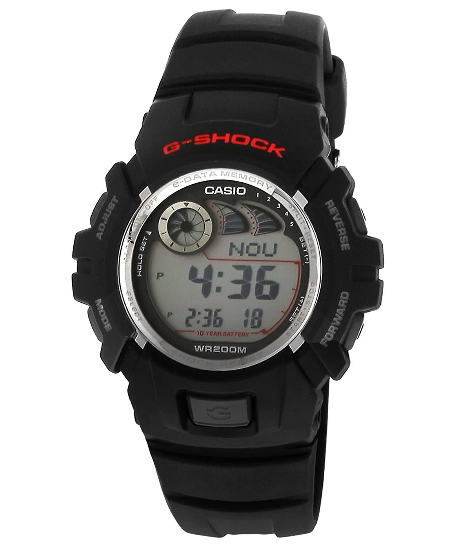 Wrist watch on discount - G Shock Digital Grey Dial Men S Watch G 2900f 1vdr G190