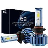 AUTOVIZION H7 LED Headlight Foglight Bulb for any H7 Halogen Headlight Bulb upgrade to LED (1 pair, Ocean Blue) (Color: 8000K, Tamaño: H7)