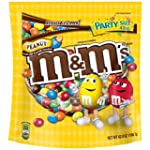 M&M'S Peanut Chocolate Candy Party Si...