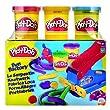 Hasbro 33433 - Play Doh Fun Factory - Bonus Pack - Knetwerk plus 5 Dosen Play-Doh Knete