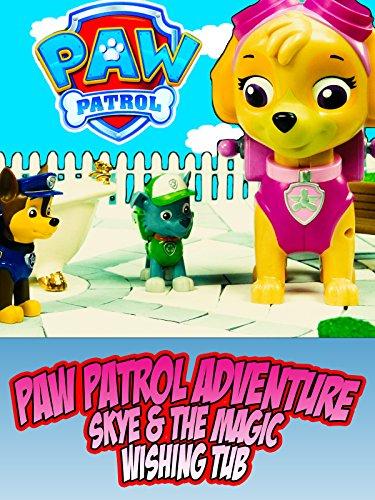 watch paw patrol adventure skye amp the magic wishing tub