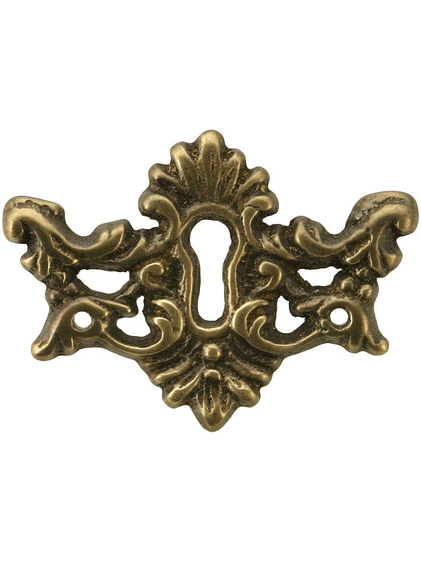 Antique Key Hole Victorian Keyhole Covers