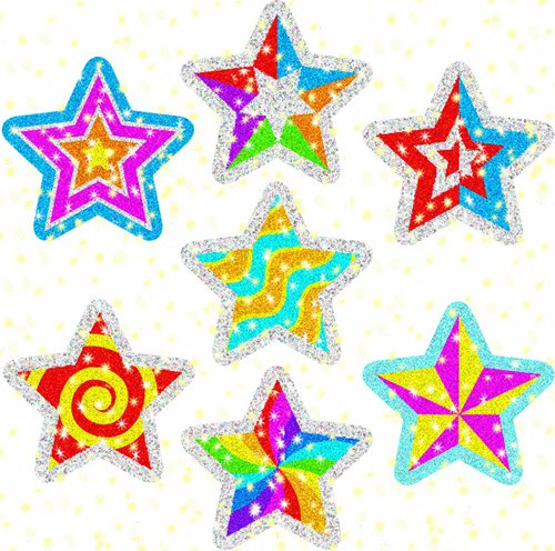 Carson Dellosa Star Power Dazzle Stickers (2826)