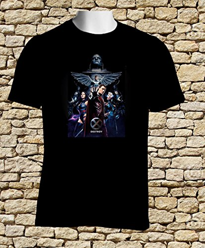 [Black T-shirt X-Men Apocalypse and Four Horsemen Movie 2016 Hot Tshirt S to 3XL] (Rogue X Men Days Of Future Past Costume)