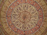 Kalamkari Tapestry-Bedspread-Coverlet-Throw-Twin