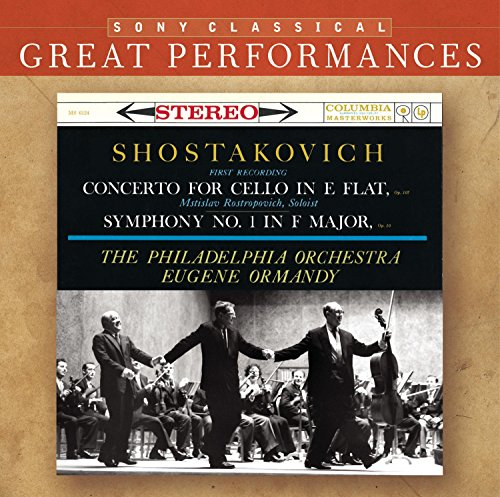 Shostakovich: Concerto for Cello in E flat / Symphony No. 1 in F Major (Shostakovich Symphony 3 compare prices)