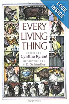 EVERY LIVING THING: Cynthia Rylant, S.D. Schindler