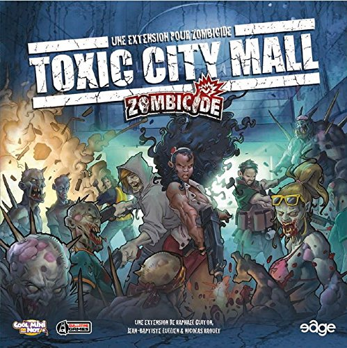 Asmodee - UBIZC0003 - Jeu de Stratégie - Zombicide - Toxic City Mall