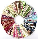 50pcs 10*10cm Fabric Patchwork Craft...