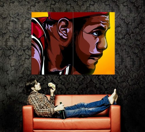 XJ0571 LeBron James Art Miami