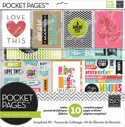 Pocket Pages Scrapbook Page Kit, Family Time