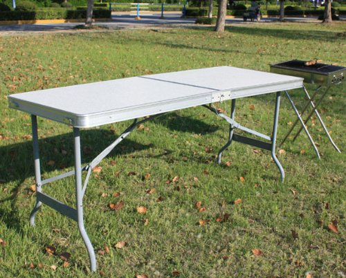Ghemos table pliable et r glable en hauteur pour pique - Table jardin hauteur reglable toulouse ...