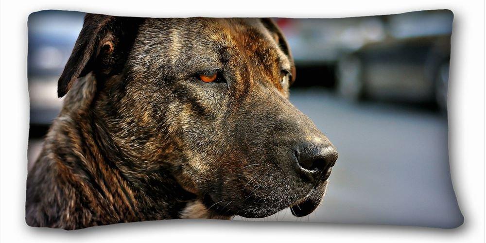 Decorative King Pillow Case Animals dog view friend 20*36 One Side smoby детская горка king size цвет красный