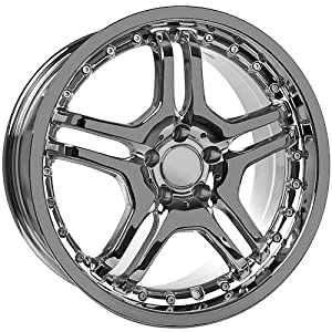 Amazon.com: 19 Inch Chrome AMG Mercedes Replica Wheels: Automotive