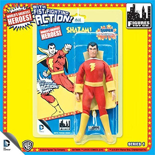 Shazam World's Greatest Heroes Super Powers DC Retro 8-Inch Action Figure by Toy Zany