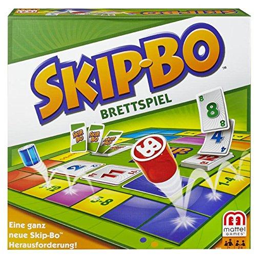 Mattel Y2319 – Skip-Bo Brettspiel