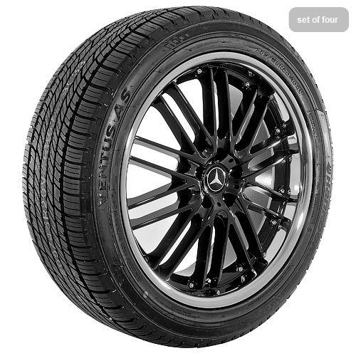 20 Inch black 595 Series Wheels Rims and Tires