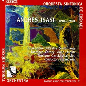 Basque Music Collection, Vol. IV: Andres Isasi