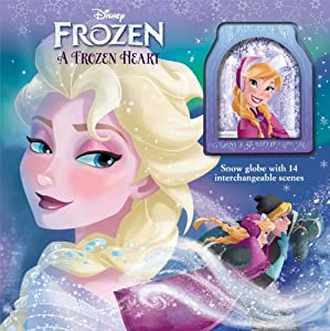 Disney Frozen A Frozen Heart: Storybook with Snowglobe (Glitter/Snow Globe) from Reader's Digest