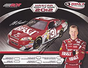 AUTOGRAPHED 2012 Jeff Burton #31 BB&T Racing Team (RCR) 9X11 NASCAR SIGNED Hero... by Trackside Autographs