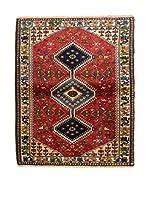 CarpeTrade Alfombra Persian Yalameh (Rojo/Multicolor)