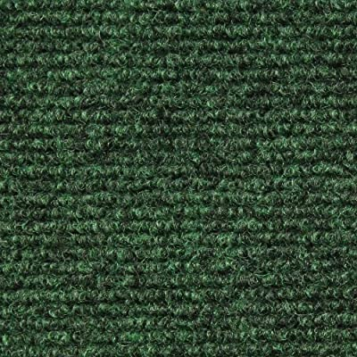Indoor/Outdoor Carpet with Rubber Marine Backing - Several Sizes Available - Carpet Flooring for Patio, Porch, Deck, Boat, Basement or Garage - Green