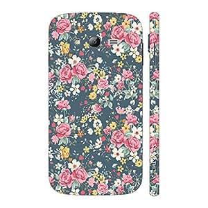 Enthopia Designer Hardshell Case Blue Blossom Back Cover for Samsung Galaxy Grand 2