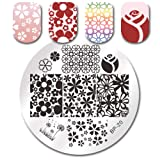 Summer Fruit Nail Art Stamping Template Tropical Punch Pattern Rectangle Image Plate Stamping Polish Needed BP-20 (Color: BP-20)