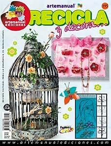 Amazon.com : Revista Manualidades Crea Tu Propio Proyecto -195 RECICLA