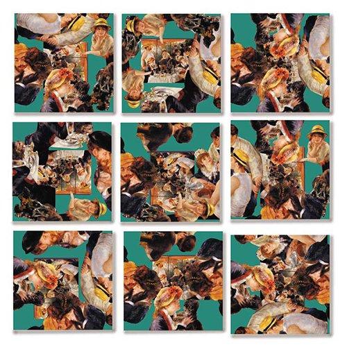 B Dazzle Renoir Scramble Squares 9 Piece Puzzle