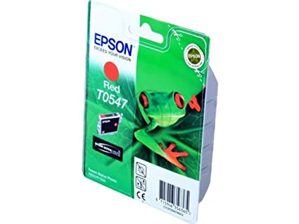 Epson Stylus Photo R 1800 (T0547 / C 13 T 05474010) - original - Inkcartridge red - 400 Pages - 13ml