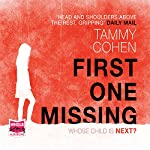 First One Missing | Tammy Cohen
