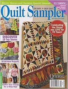 Better Homes And Gardens Quilt Sampler Magazine Spring
