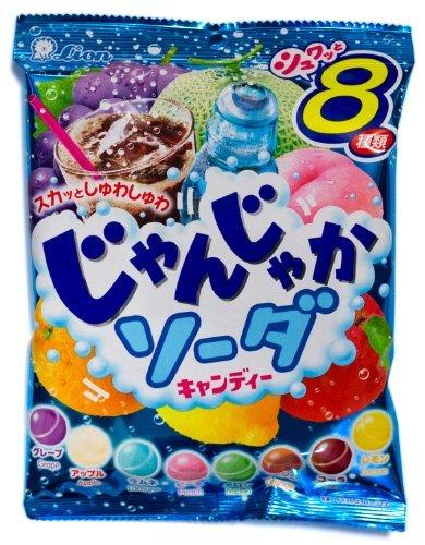 "Lion ""Noisy"" 8-flavor Soda Hard Candy (Japanese Import) [JI-ICIC"