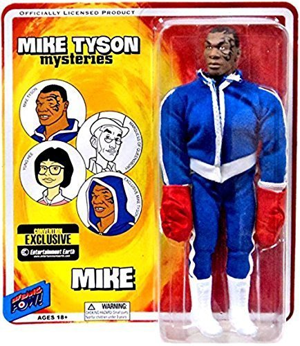 """Mike Tyson Mysteries 8"""" Action Figure: Mike Tyson with Boxing Gloves by Unknown"""