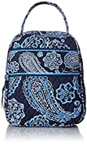 Vera Bradley Lunch Bunch, Blue Bandana, One Size