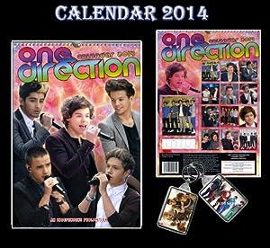 ONE DIRECTION 2014 KALENDER VON DREAM + FREE ONE DIRECTION Schlüsselring