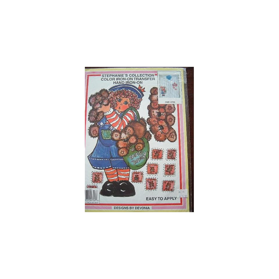 STEPHANIES COLLECTION   COLOR IRON ON TRANSFER DESIGNS BY DEVONIA #SMC9756
