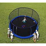 Bouncepro 14' Trampoline and Enclosure with Spinner Flash Litez