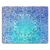 Pattern White Snowflake Crystal Anime Comic Game ACG Mouse pads Art Design Customized Made to Order Support Ready 9 7/8 inch (250mm) x 7 7/8 inch (200mm) x 1/16 inch (2mm) High Quality Eco friendly Cloth with Neoprene rubber woocoo mouse pad desktop mousepad laptop mousepads comfortable computer mouse mat cute gaming mouse_pad