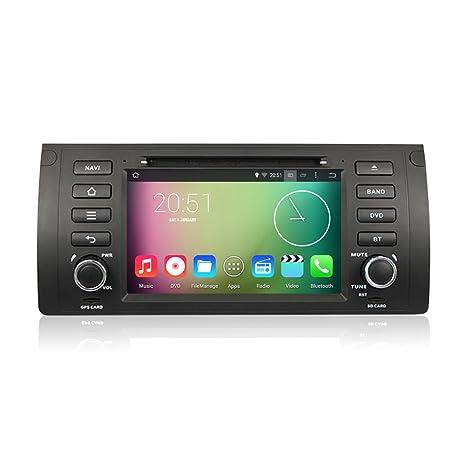 Rupse - Android 4.4.4 Quad Core Autoradio DVD GPS Système de Navigation Stéréo Lecteur DVD Voiture avec 7 pouces Écran Tactile Numérique Haute Définition pour 2003 2004 Range Rover
