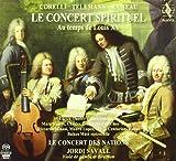echange, troc  - Le Concert Spirituel - Au temps de Louis XV