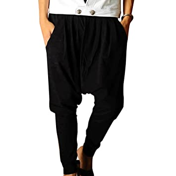 Aubig pantalones har n hombres pantalones casuales for Pantalones asiaticos