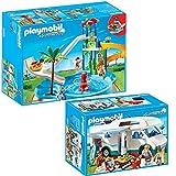 Playmobil piscine avec toboggan pas cher voir les 110 for Piscine ungersheim