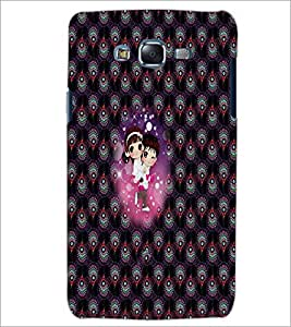 PrintDhaba Couple D-2674 Back Case Cover for SAMSUNG GALAXY J5 (Multi-Coloured)