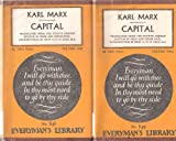 img - for Capital (Everyman's Library, No. 848 & 849, 2 Vols.) book / textbook / text book
